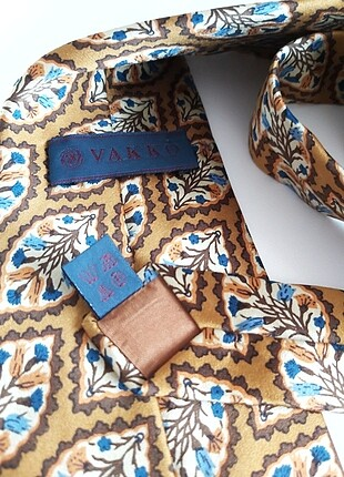 Yeni Vakko Vintage Özel Seri İpek Kravat