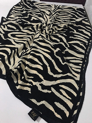 Zebra Elif şal