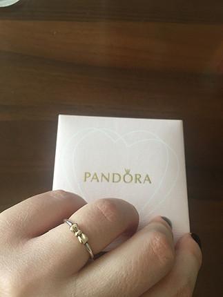 Pandora two tone yüzük