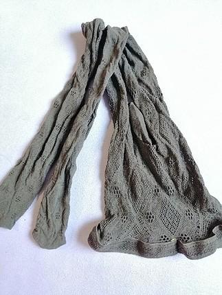 Penti Desenli File Külotlu Çorap