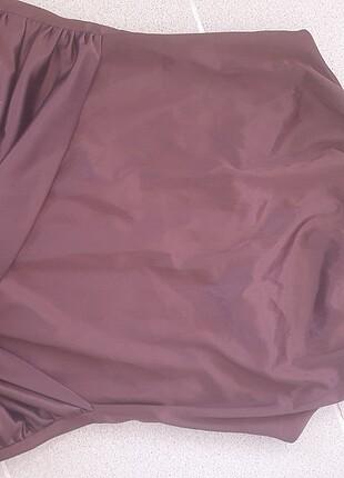 40 Beden Koyu Bordo Drapeli Saten Uzun Elbise