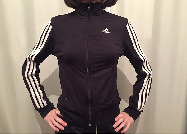 Adidas Adidas Önden Fermuarlı Eşofman Üstü