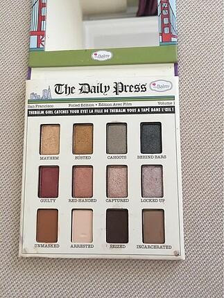 The Balm Foil Eyeshadow Palette.