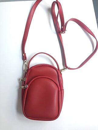 Bershka Kırmızı Çanta