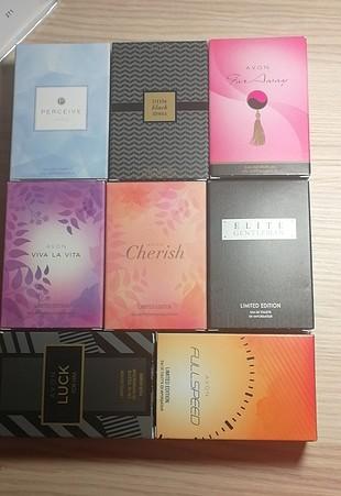 30 ml avon parfüm seti