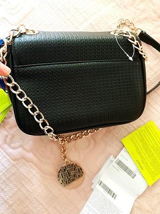 universal Beden siyah Renk versace çanta sıfır