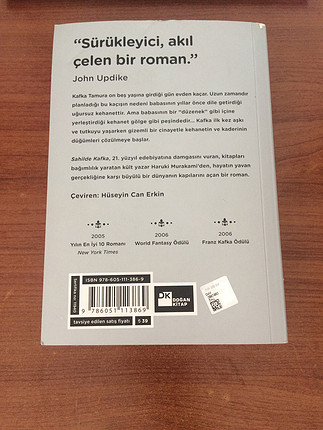 Sahilde kafka orijinal kitap