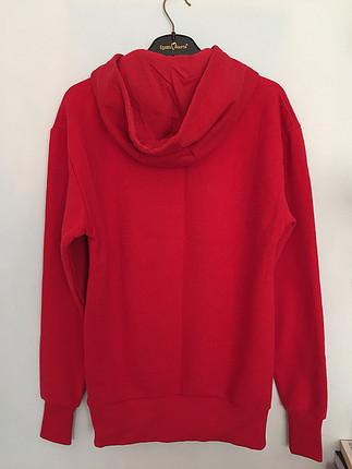 Kırmızı sweatshirt / tunik
