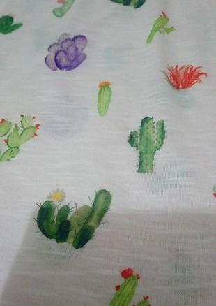 Koton kaktüs desenli