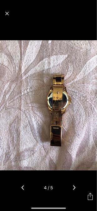 diğer Beden altın Renk Fossil saat