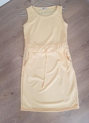 Diğer sari elbise