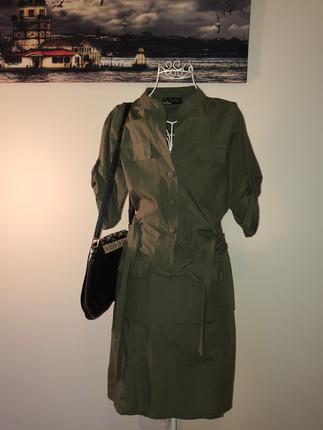 Asker yeşil elbise