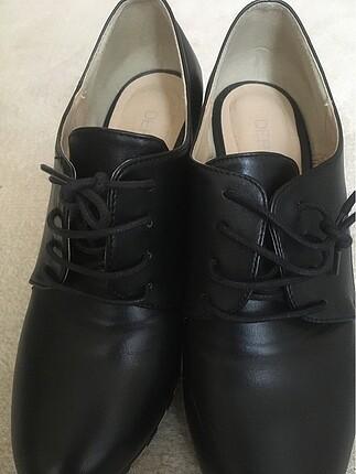 39 Beden siyah Renk Derimod topuklu ayakkabı