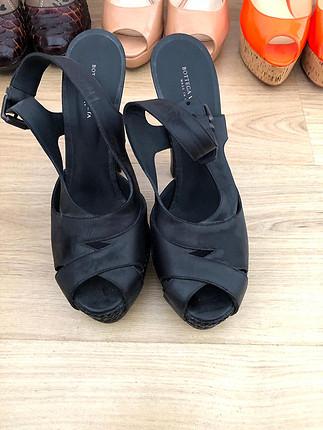 Bottega vanetta topuklu ayakkabı