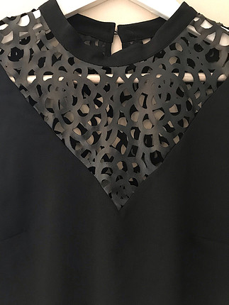 m Beden siyah Renk Koton bluz