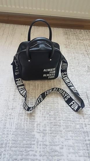 koton marka yazılı çanta