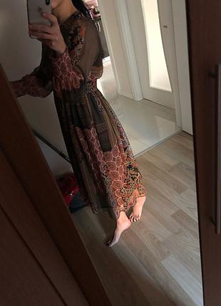 s Beden çeşitli Renk Zara şifon elbise