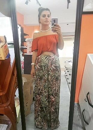 Uzun bol pantolon