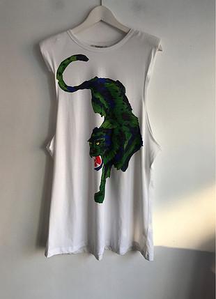 Uzun t-shirt