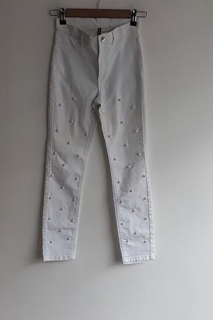 İnci detaylı Pantalon