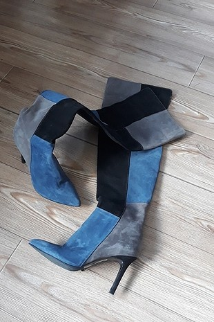 topuklu uzun çizme