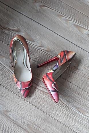 Diğer stiletto topuklu ayakkabı