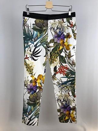 Çicekli Pantolon