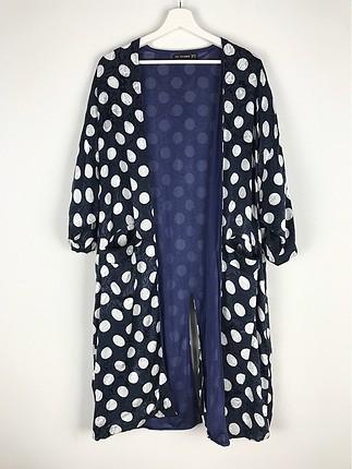 Puantiyeli Kimono