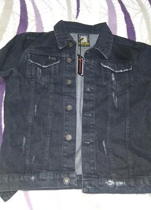 Jean ceket erkek