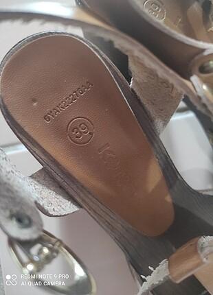 39 Beden kahve Renk Topuklu ayakkabı