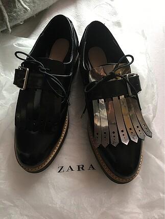 38 Beden Zara Blucher Ayakkabı