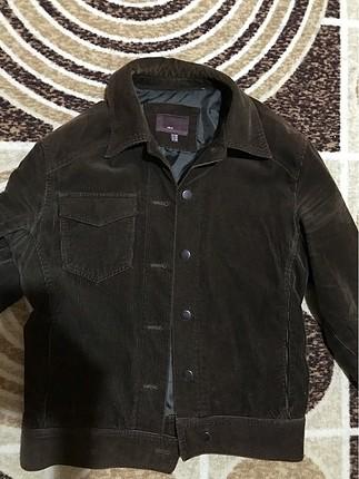 Kadife içi astarlı zara ceket