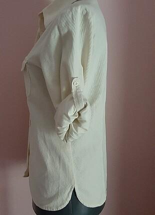 m Beden beyaz Renk Beymen club gömlek M beden .