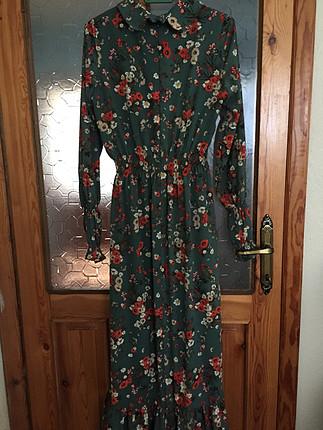 xl Beden Uzun elbise