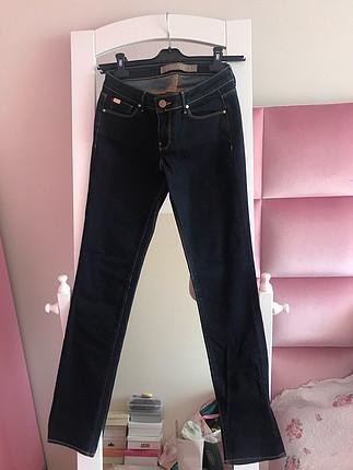 Zara koyu renk jean
