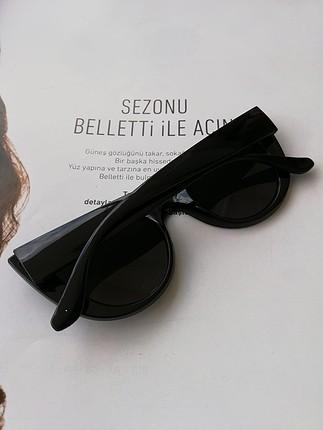 universal Beden siyah Renk 2019 trend gözlükler sıfırdır