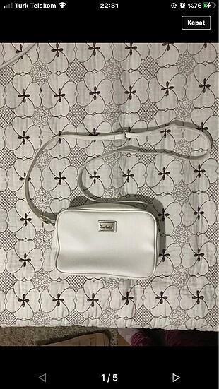 Pierre Cardin Beyaz pier cardin çanta