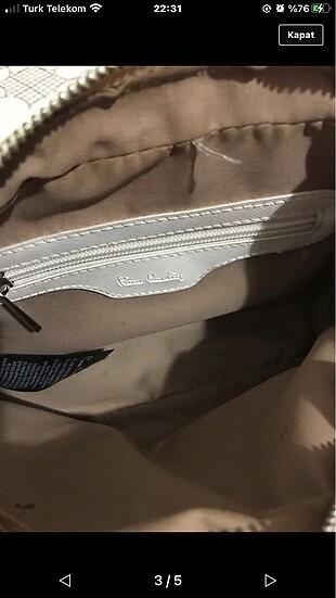 Beden beyaz Renk Beyaz pier cardin çanta