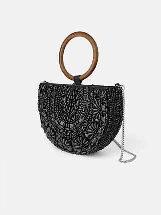Zara yeni etiketli el yapımı çanta