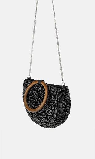 Zara Zara yeni etiketli el yapımı çanta