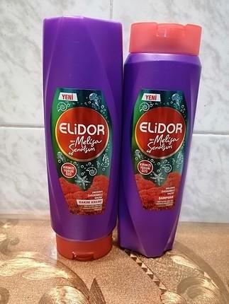 Elidor kırmızı yosun özlü şampuan ve saç kremi