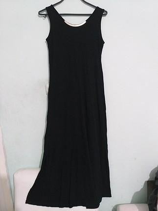 yırtmaçlı uzun elbise