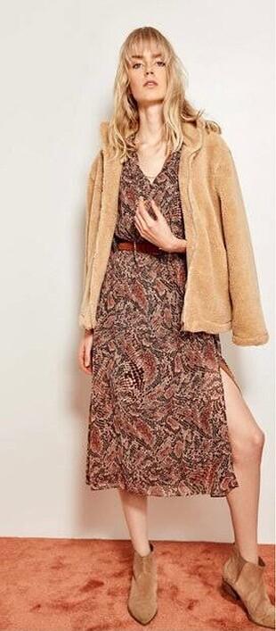 Trendyolmilla gipeli desenli elbise