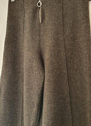 Gri/haki kalın yumuşacık pantalon small