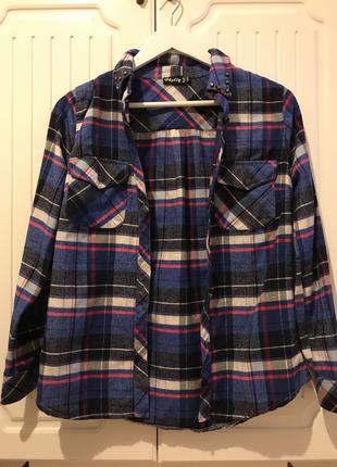 Lacivert kışlık gömlek