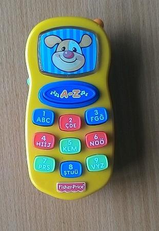 Fisher-Price Türkçe konuşan eğitici telefon