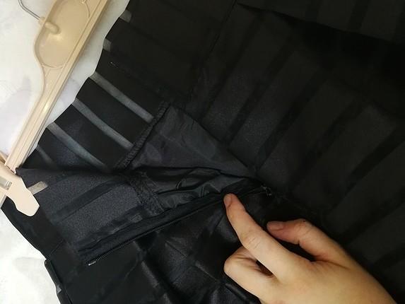 38 Beden siyah Renk 38 beden uzun etek