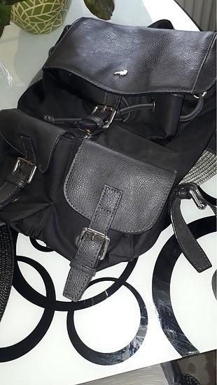 Network deri & kumaş karışımı çok tarz sırt çantası