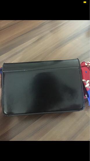 universal Beden siyah Renk Eşarp saplı mango çanta