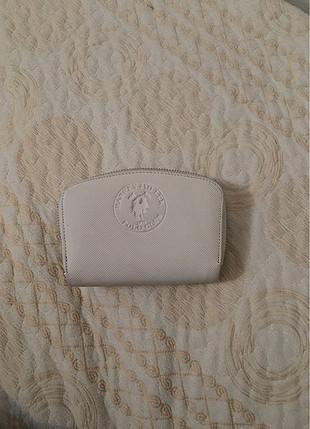 Polo beyaz cüzdan